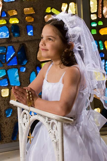Emily's 1st Communion Photos